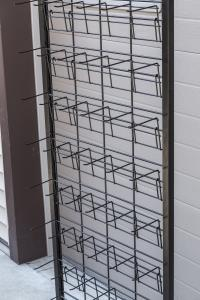 Gridwall display racks