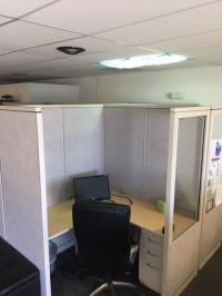 Cubicle dividers- groups of 4 per unit.