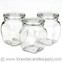 18 oz Victorian  Jar with lid (case of 12)