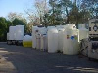 POLY TANKS ON SALE USED AND CLEAN